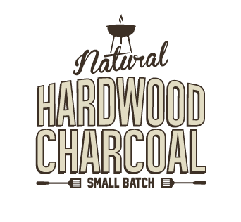 natural hardwood charcoal logo